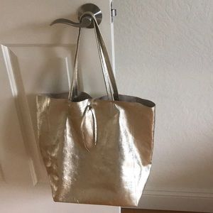 Handbags - ❤️Genuine leather tote bag made in Italy